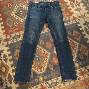 Hollister Button fly jeans men's 30 x 32 Skinny